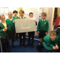 The first group to reveal the hidden message!