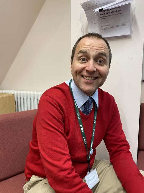 Mr Dan Holmes - Staff Governor