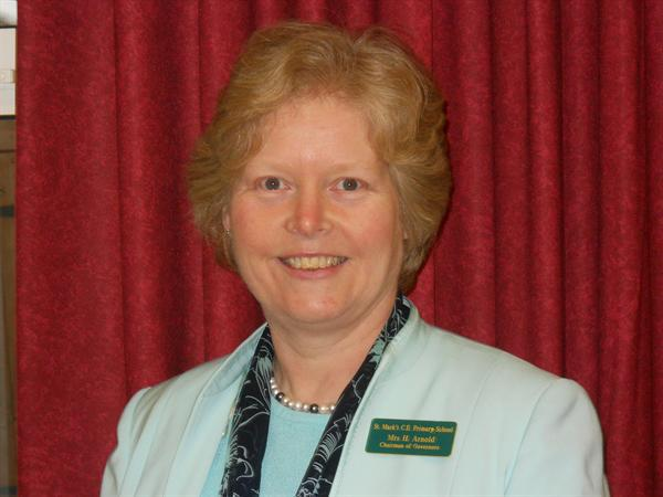 Mrs Helen Arnold - Foundation Governor. Vice Chair