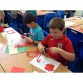 Making poppies!