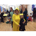 Mrs Bowman dressed as Pudsey
