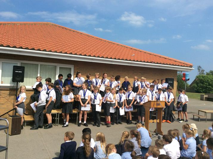 Our Year 6 say farewell