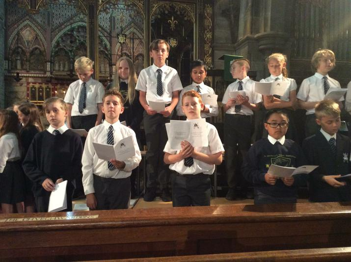 Our Leavers Service at St. Martin's Church