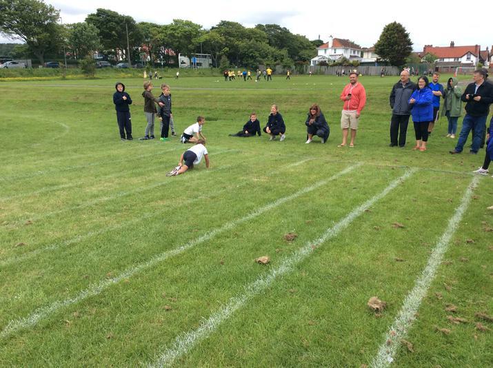 Infant Sports Day Fun