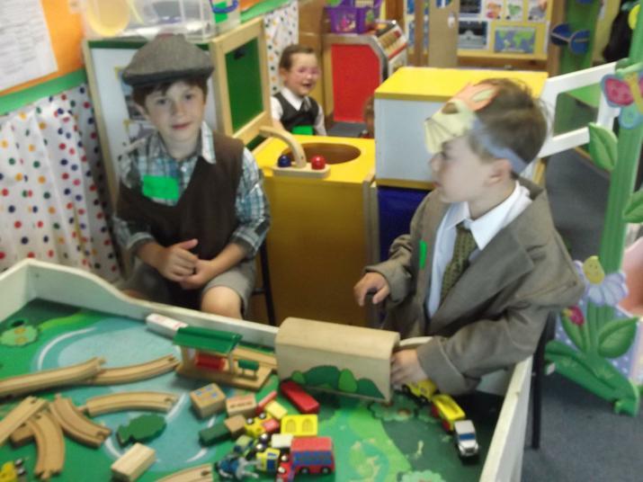 Charlie Bucket and Fantastic Mr Fox.