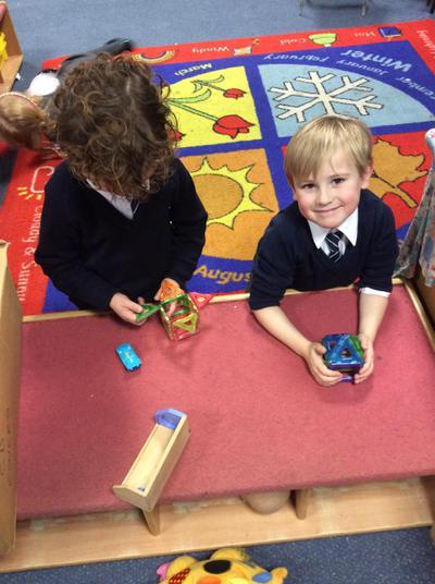 We have been building spaceships.