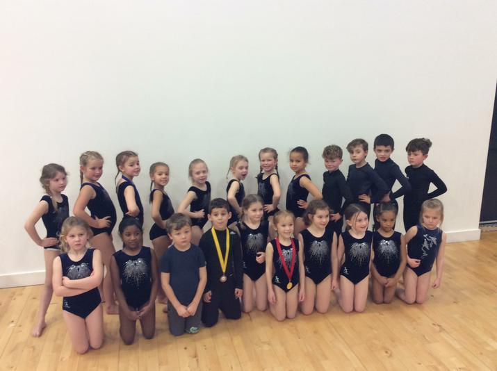 Gymnastics for Year 1/2