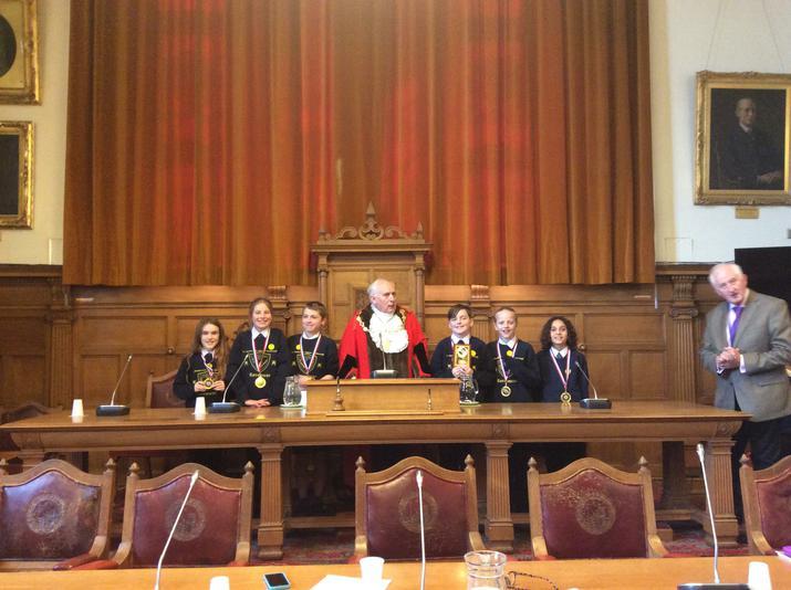 Year 6 Debating at the Town Hall