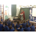 We learnt how the Vikings used their weapons