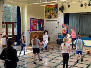 Children taking part in our Active Move sessions.