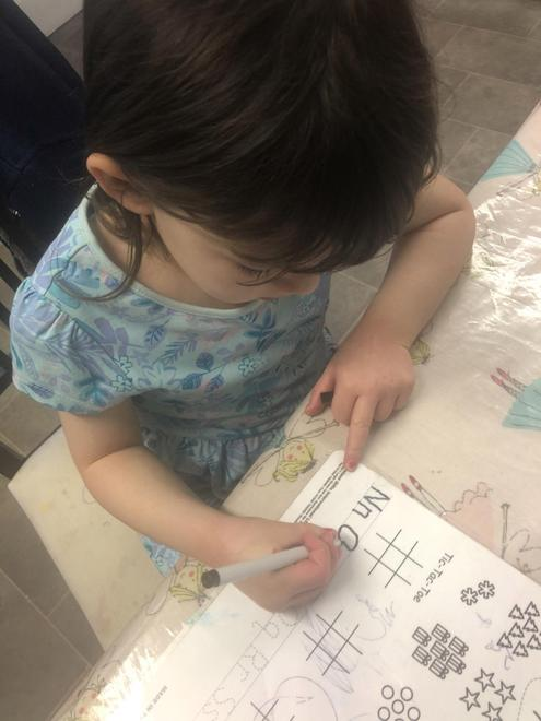 Letter formation practise