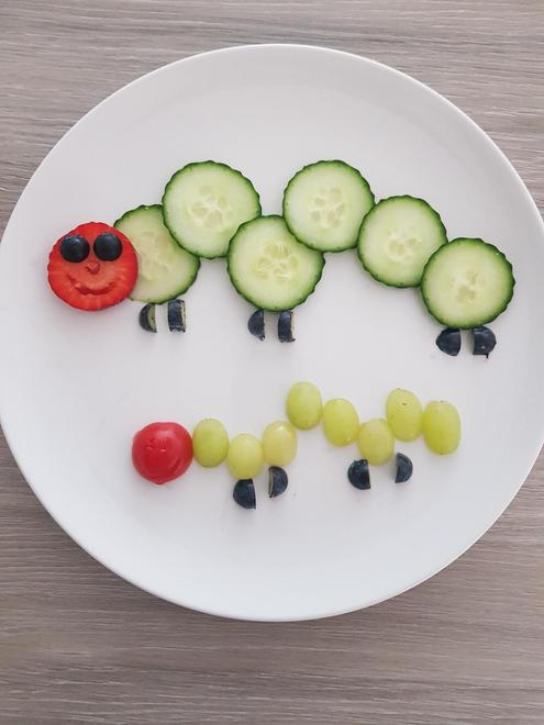 Fruit and vegetable caterpillars
