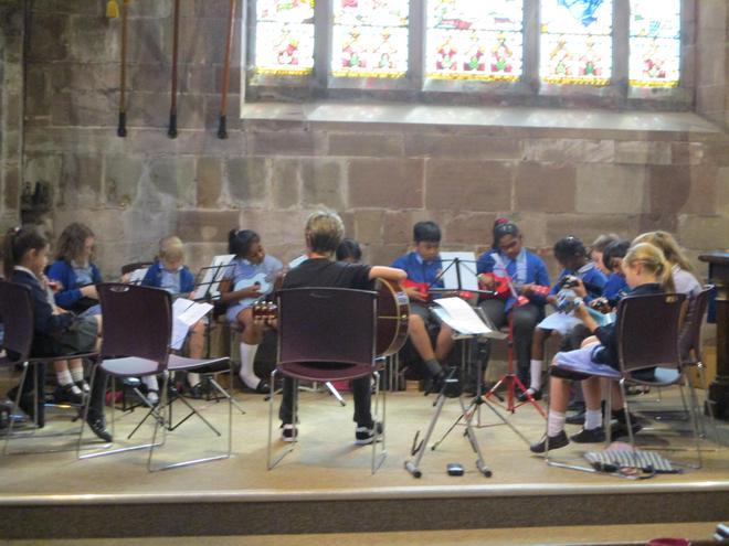 The strummed strings workshop.