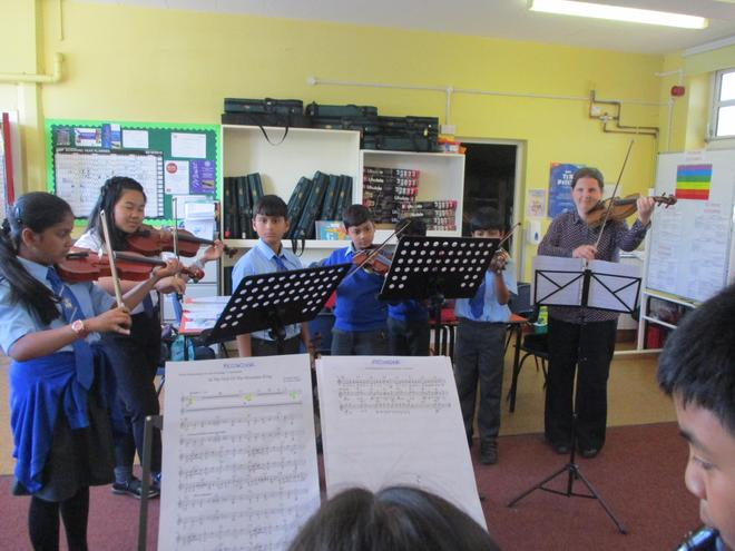 Violin players from Y3-Y6 and beyond!