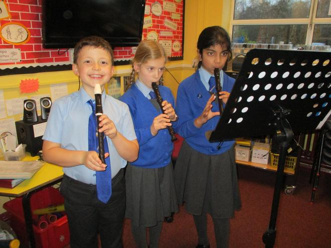 First recorders.
