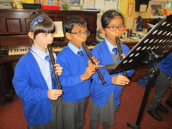 Second recorders.