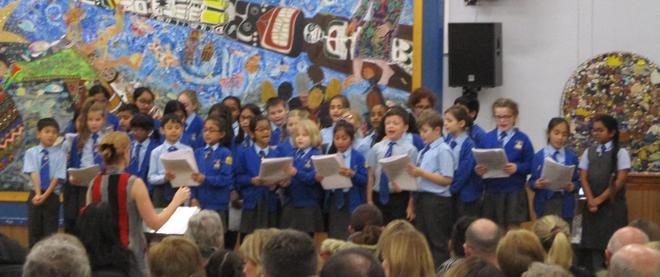 We had a full choir.