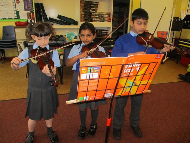 Violin Beginners.