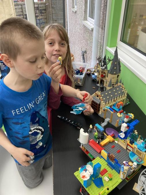 Creating some fantatsic Lego models!