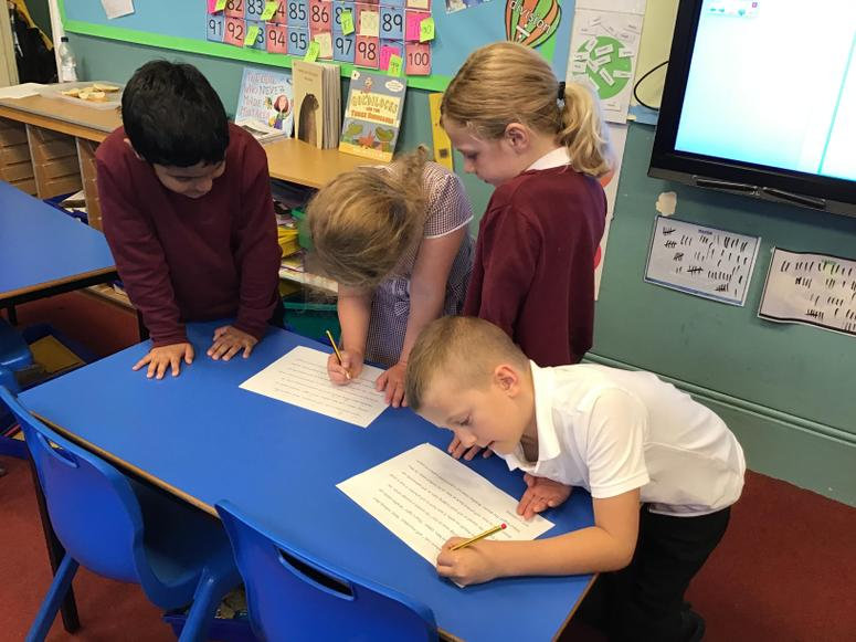 Preparing for reader's theatre in English