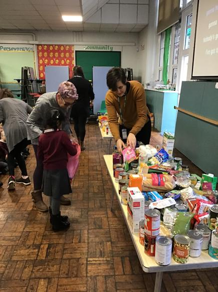 Thank you for all your food donations.