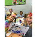Authors and illustrators  on Book Day