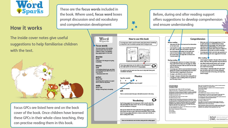 Oxford Reading Tree - 'How it work guide'
