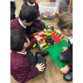 Working together to build houses from around the world.