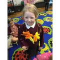 Making flower garlands
