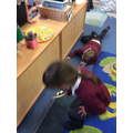 We were focusing on tidying up!