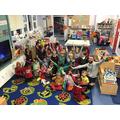 We finished our week celebrating Elmer Day!