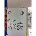 We have started learning the phonemes S, A, T, P in phonics this week.