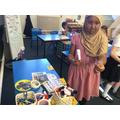 We were set a STEM challenge.
