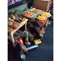 Thank you for all the food donations to the local foodbank.
