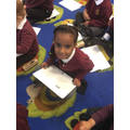 We have been using our phoincs to write CVC words. This week we learnt ck, e, u and r.