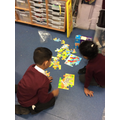 We have loved puzzles this week!