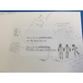 In English, we were analysing vocabulary choice in 'The Underfeated'