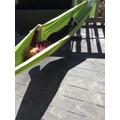 we love swinging in the hammocks