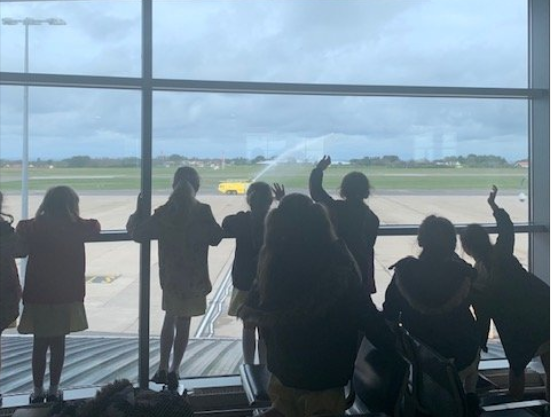 Year 3 visited the airport