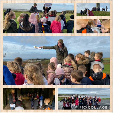 Year 3 learning about the Stone Age