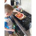 Chef in training!
