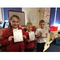 Darcie, Joshua and Cydan