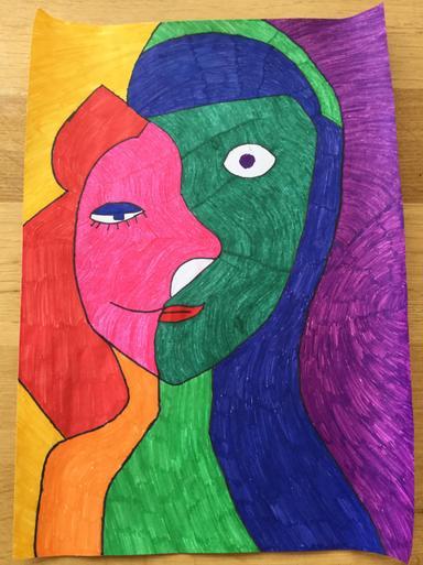Natasha's AMAZING Picasso work!!
