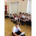 Studying our scripts!