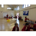 Athletics PE classes with a South Ribble Coach