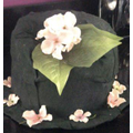 Becca's super Victorian hat!