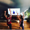 Home learning - Bettsy - Exercising with Joe Wicks