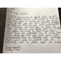 Bettsy's letter to the Very Hungry Caterpillar