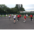 Football training day