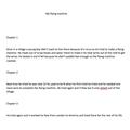 Finlay's flight story